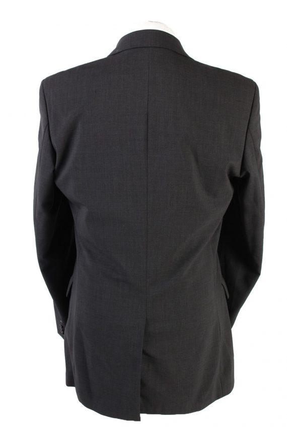 "Vintage Hugo Boss Classic Blazer Jacket Chest 42"" Dark Grey HT2677-121563"