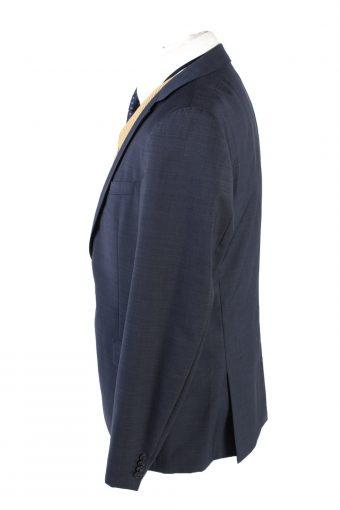 "Vintage Hugo Boss Classic Blazer Jacket Chest 44"" Dark Blue HT2679-121570"