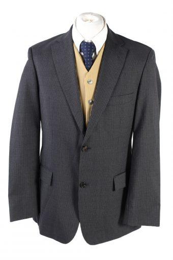 Hugo Boss Blazer Jacket 90s Retro Grey L