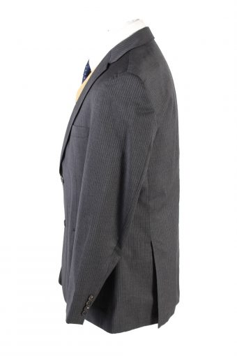 "Vintage Hugo Boss Classic Blazer Jacket Chest 42"" Grey HT2680-121574"