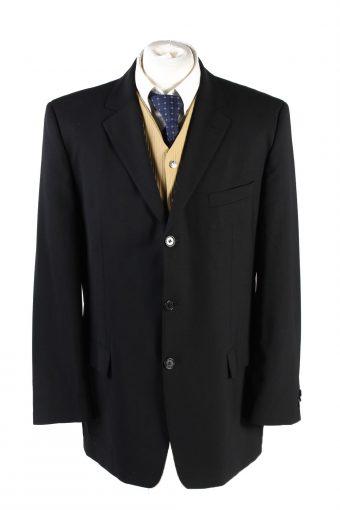 Hugo Boss Blazer Jacket 90s Retro Black XL