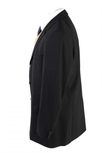 "Vintage Hugo Boss Classic Blazer Jacket Chest 44"" Black HT2683-121586"