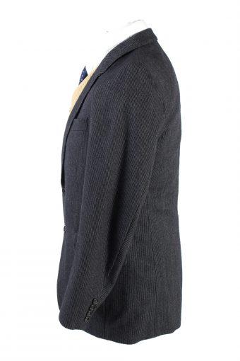 "Vintage Kugler Classic Blazer Jacket Chest 39"" Dark Grey HT2685-121594"