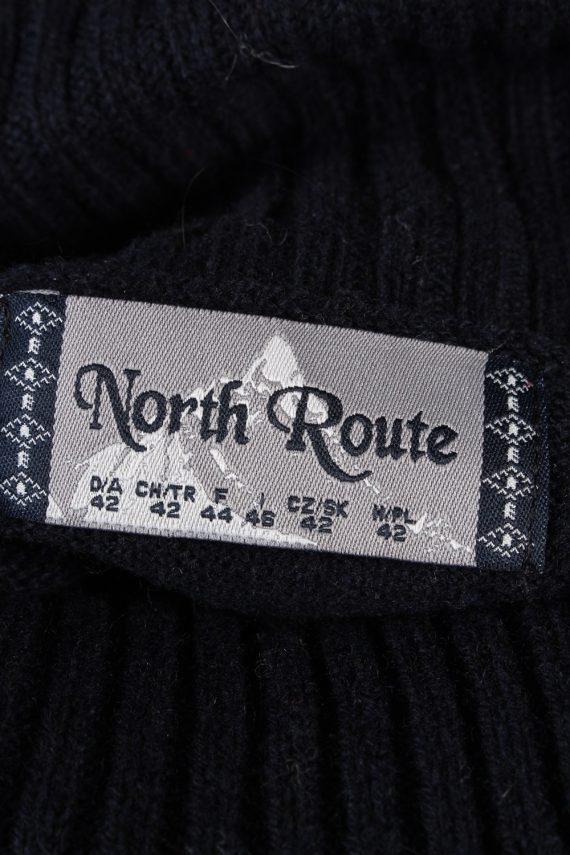 Vintage North Route Christmas Icelandic Jumper 42 Multi -IL1991-119789