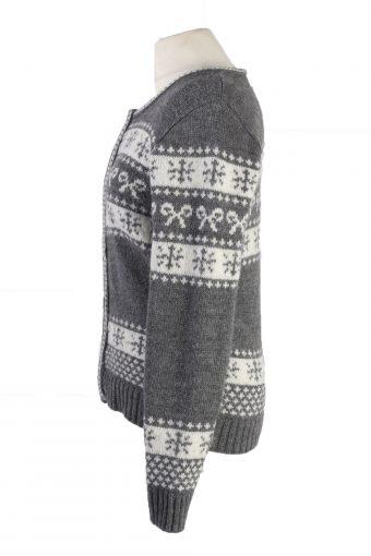 Vintage Peckott Christmas Icelandic Cardigan 36 Multi -IL1997-119763