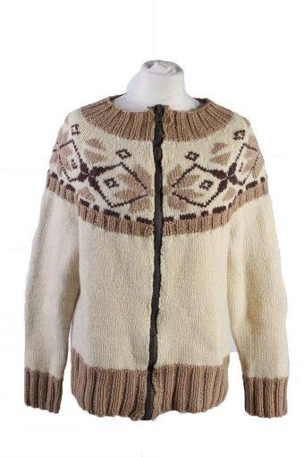Christmas Icelandic Full Button Cardigan Multi M