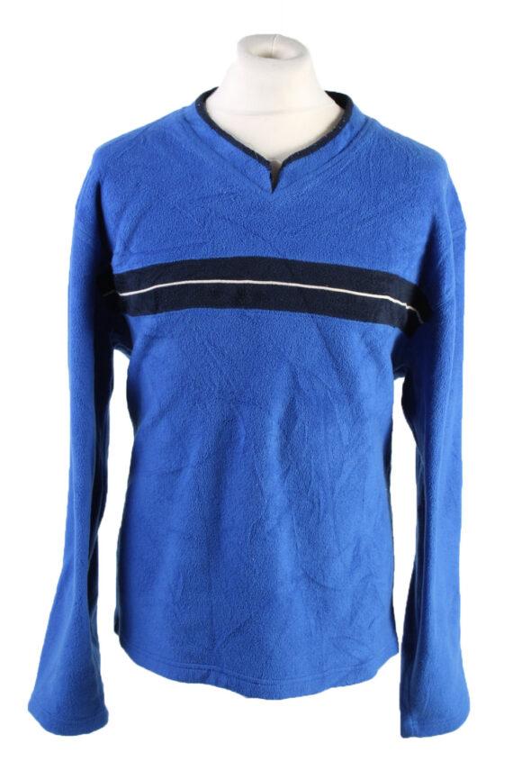 Vintage Gap Fleece Sweatshirt L Blue -SW2415-0