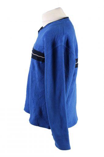 Vintage Gap Fleece Sweatshirt L Blue -SW2415-119382