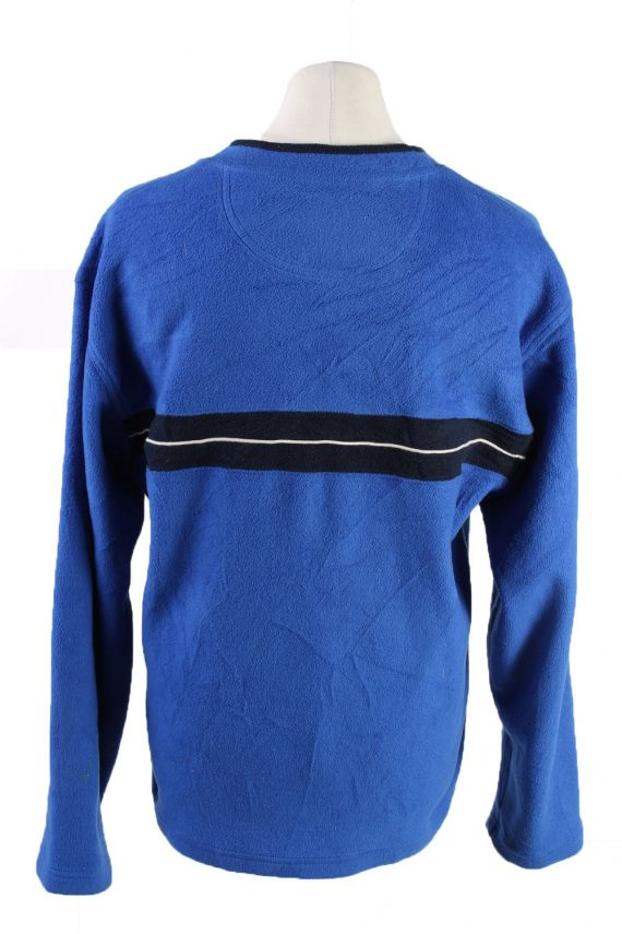 Vintage Gap Fleece Sweatshirt L Blue -SW2415-119383