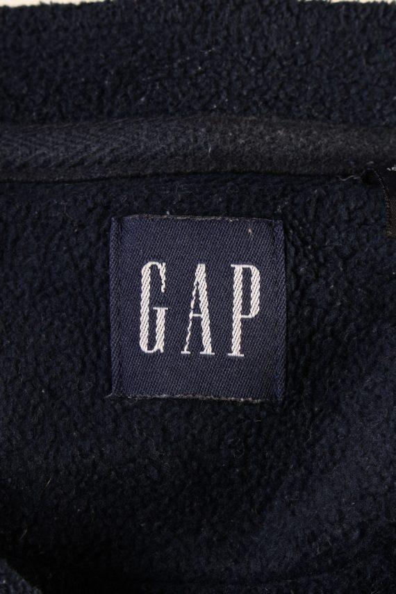 Vintage Gap Fleece Sweatshirt L Blue -SW2415-119384