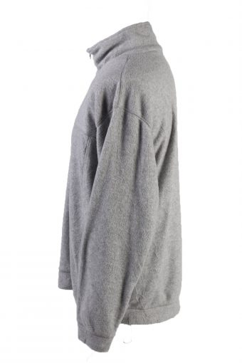 Vintage Natura Life Fleece Sweatshirt XL Grey -SW2419-119416