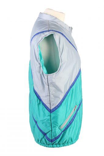 Vintage Dolomiti Seiller Puffer Gilet Waistcoat 42 White -C1840-123690