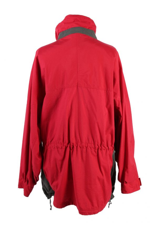 Vintage Columbia Windbreaker Womens Jacket Coat XL Red -C1851-123741