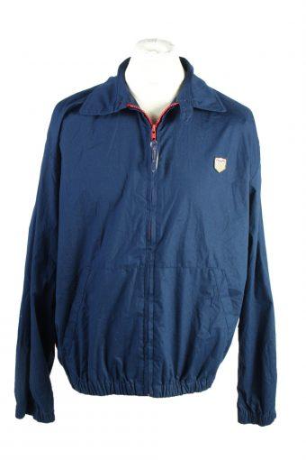 Vintage Chaps Ralph Lauren Windbreaker Lined Mens Jacket Coat L Navy
