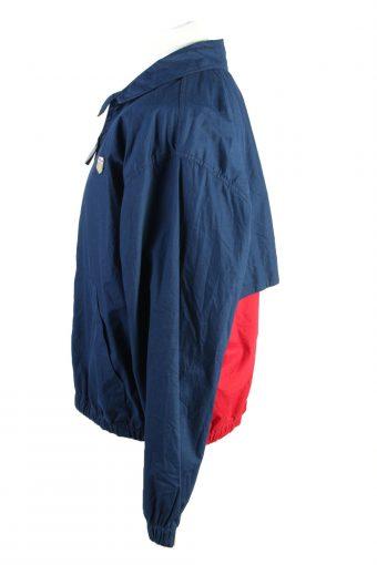 Vintage Chaps Ralph Lauren Windbreaker Lined Mens Jacket Coat L Navy -C1883-124430