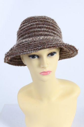 Vintage Kangol Design Fashion Womens Winter Knit Trilby Hat