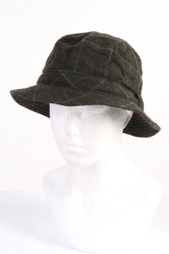 Vintage Collins Fashion Mens Lined Trilby Hat