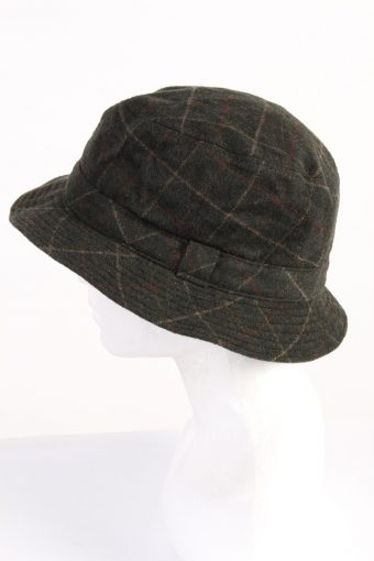 Vintage Collins 1990s Fashion Mens Lined Trilby Hat Multi HAT1057-122918