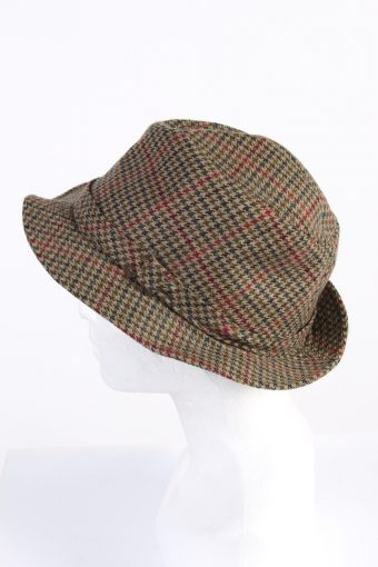 Vintage Henry Stanley 1990s Fashion Mens Lined Trilby Hat Multi HAT1059-122926