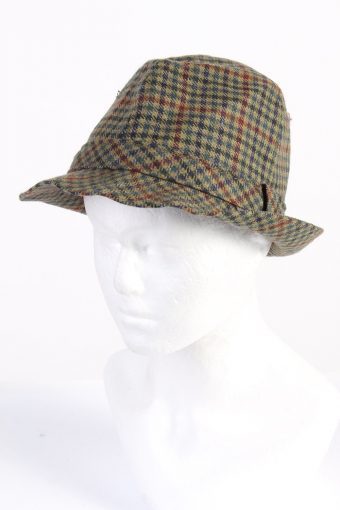 Vintage Henry Stanley Fashion Mens Lined Trilby Hat