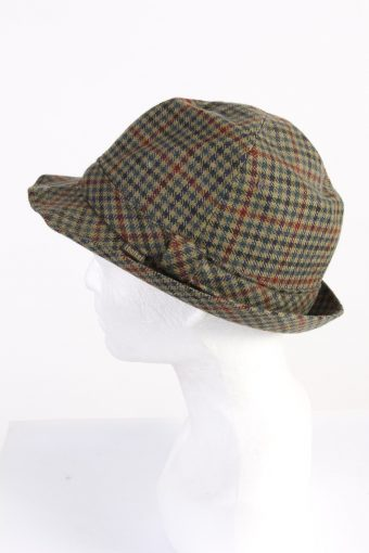 Vintage Henry Stanley 1970s Fashion Mens Lined Trilby Hat Multi HAT1079-123006