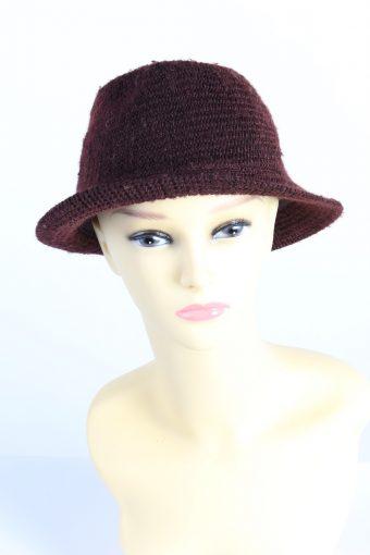 Vintage HM Divided Fashion Womens Brim Knit Hat
