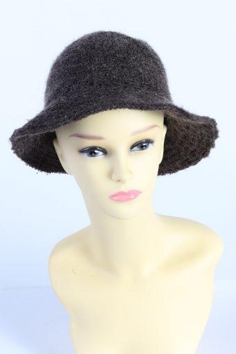 Vintage CA Fashion Womens Brim Lined Hat