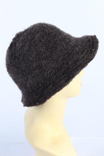 Vintage C&A 1980s Fashion Womens Brim Lined Hat Multi HAT1130-123550