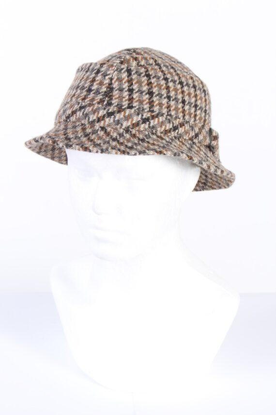 Vintage 1990s Fashion Lined Winter Hat Multi HAT960-0