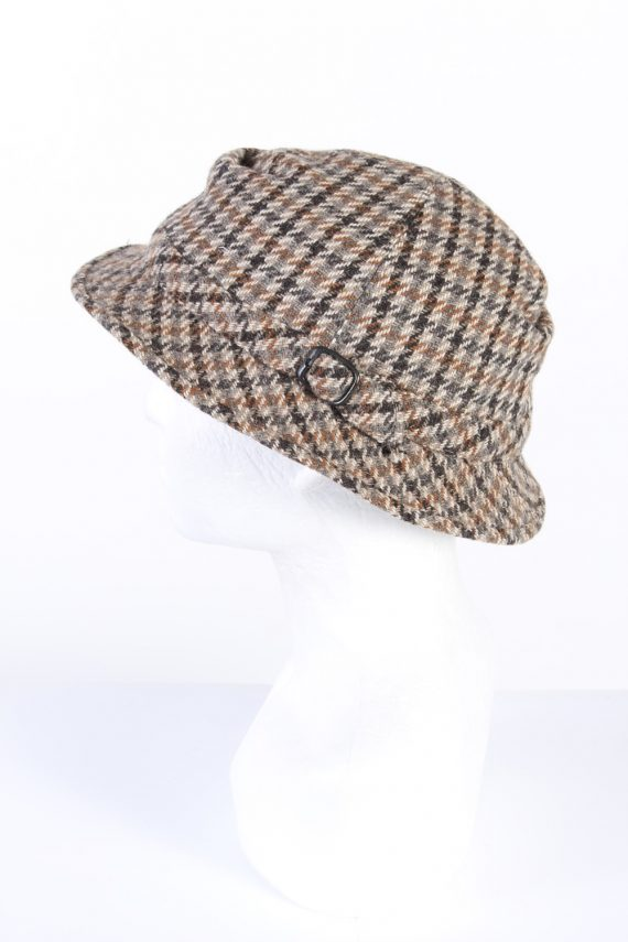 Vintage 1990s Fashion Lined Winter Hat Multi HAT960-122072