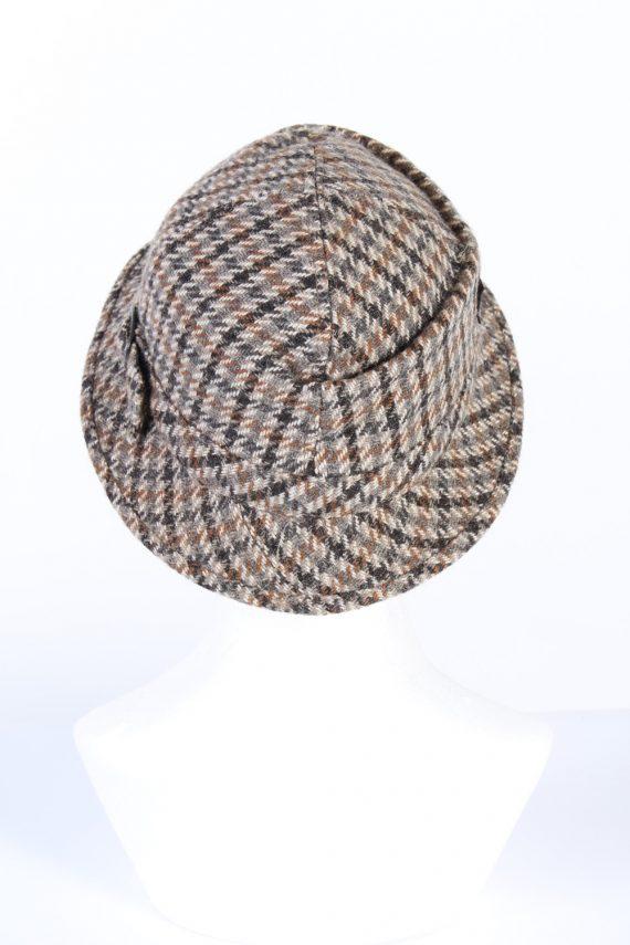 Vintage 1990s Fashion Lined Winter Hat Multi HAT960-122073