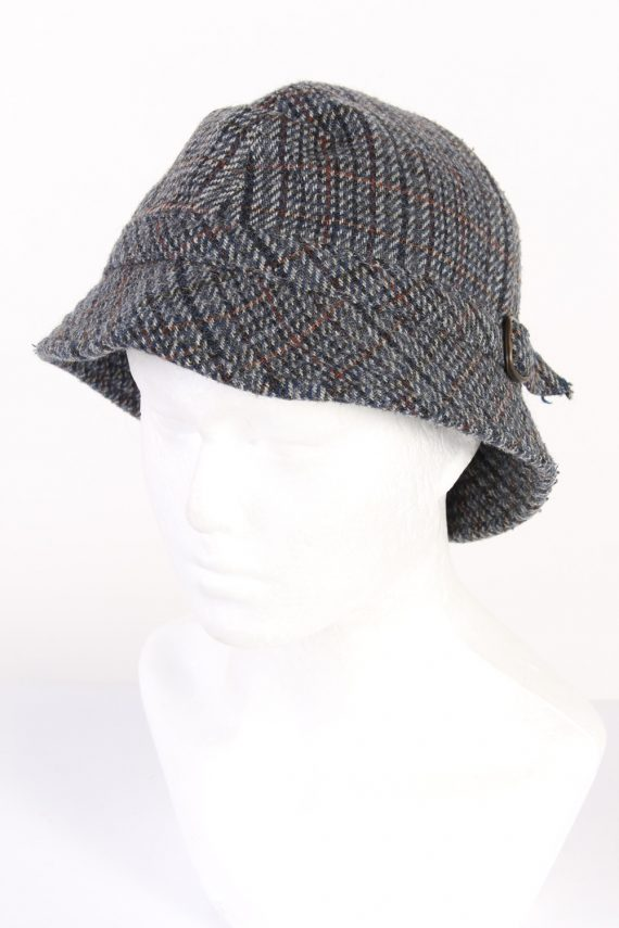Vintage 1990s Fashion Lined Winter Hat Multi HAT971-0