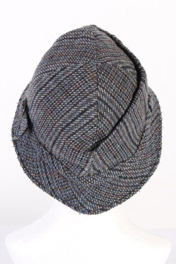 Vintage 1990s Fashion Lined Winter Hat Multi HAT971-122030