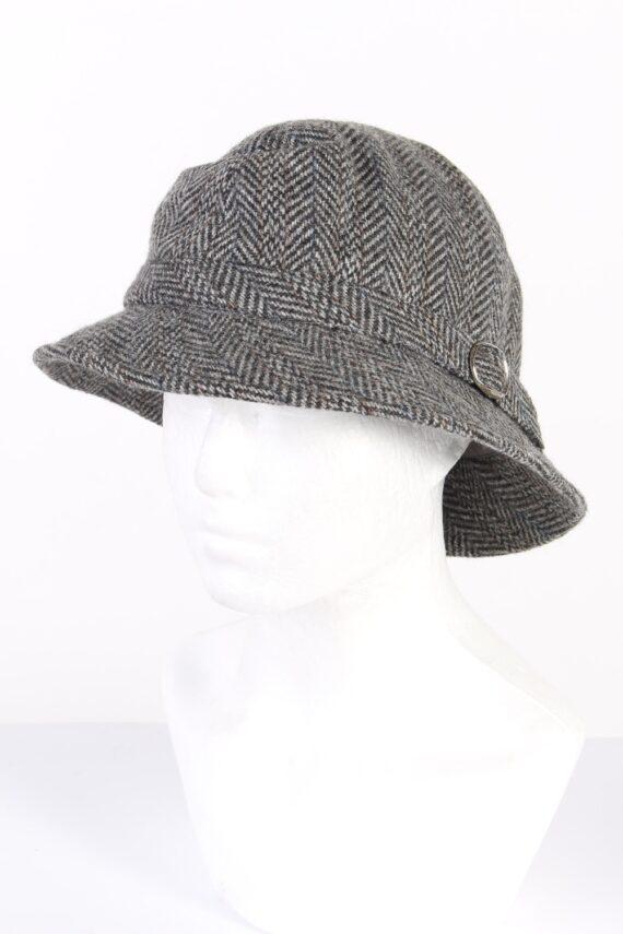 Vintage Mayser Milz 1980s Fashion Lined Winter Hat Multi HAT981-0