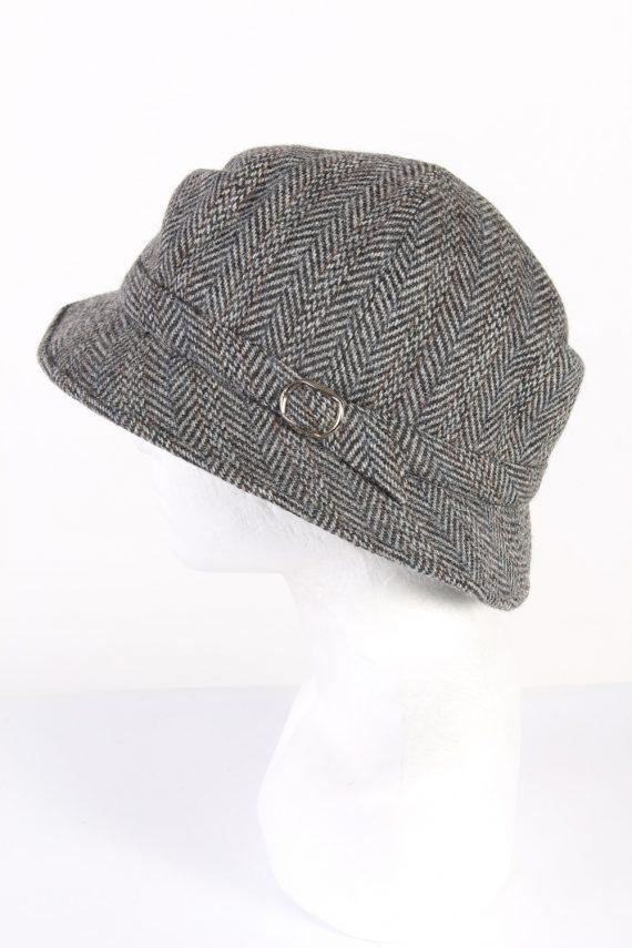 Vintage Mayser Milz 1980s Fashion Lined Winter Hat Multi HAT981-122103