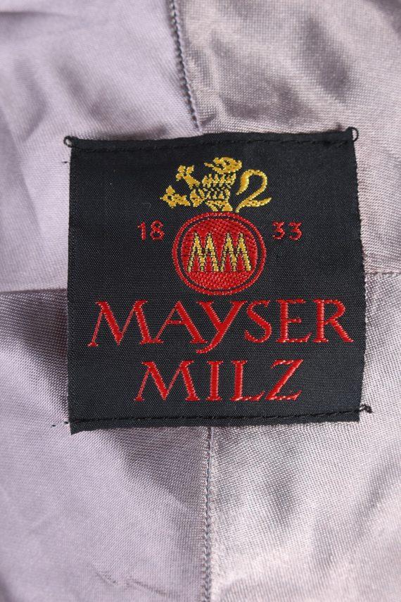 Vintage Mayser Milz 1980s Fashion Lined Winter Hat Multi HAT981-122105