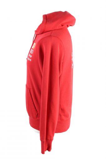 Vintage Nike Mens Tracksuit Top S Red -SW2440-122398