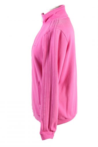 """Vintage Adidas Womens Full Zip Tracksuit Top Chest 39"""" Pink -SW2475-124123"""
