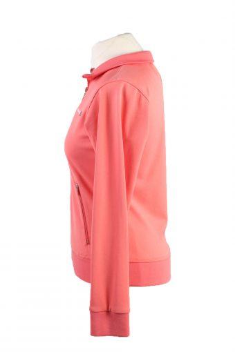 Vintage Reebok Womens Full Zip Tracksuit Top 12 Pink -SW2479-124139