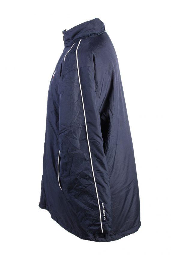 Vintage Umbro Lined Mens Puffer Jacket Coat XL Navy -C1905-125736