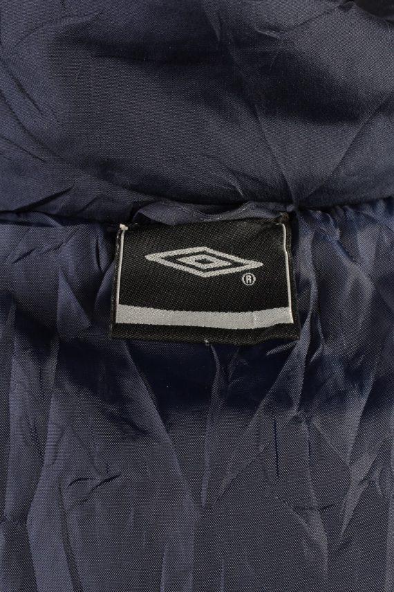 Vintage Umbro Lined Mens Puffer Jacket Coat XL Navy -C1905-125738