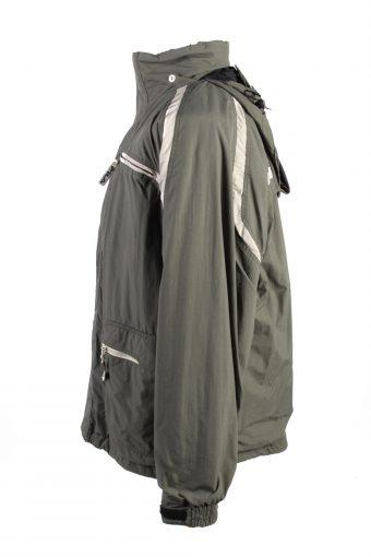 Vintage Fila Lined Mens Puffer Jacket Coat XL Khaki -C1910-125756