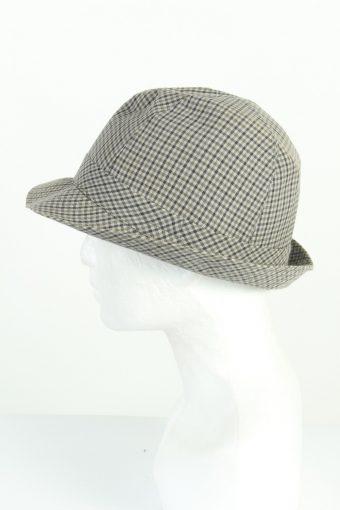 Vintage Best Quality 1990s Fashion Mens Trilby Hat Multi HAT1202-124590