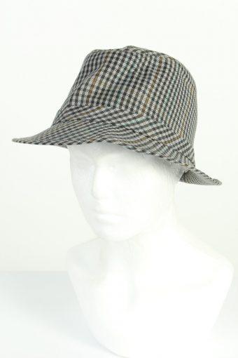 Vintage CA Sport Models Fashion Mens Trilby Hat