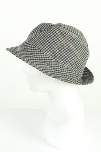 Vintage C&A Sport Models 1990s Fashion Mens Trilby Hat Multi HAT1203-124594