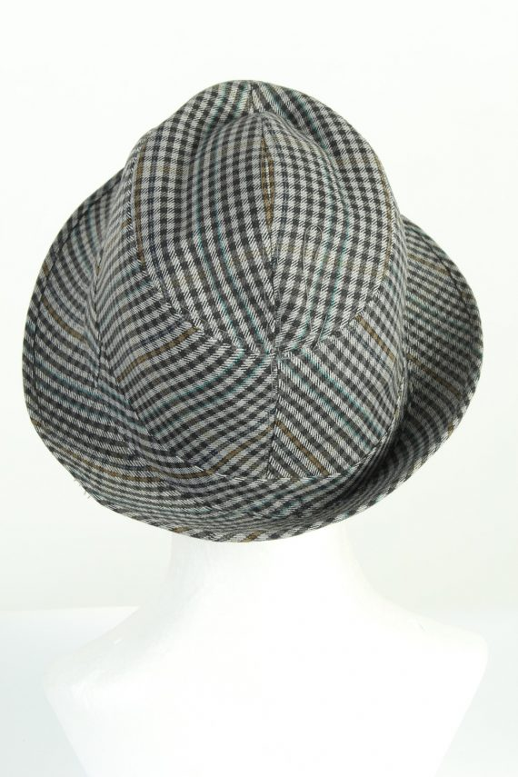 Vintage C&A Sport Models 1990s Fashion Mens Trilby Hat Multi HAT1203-124595