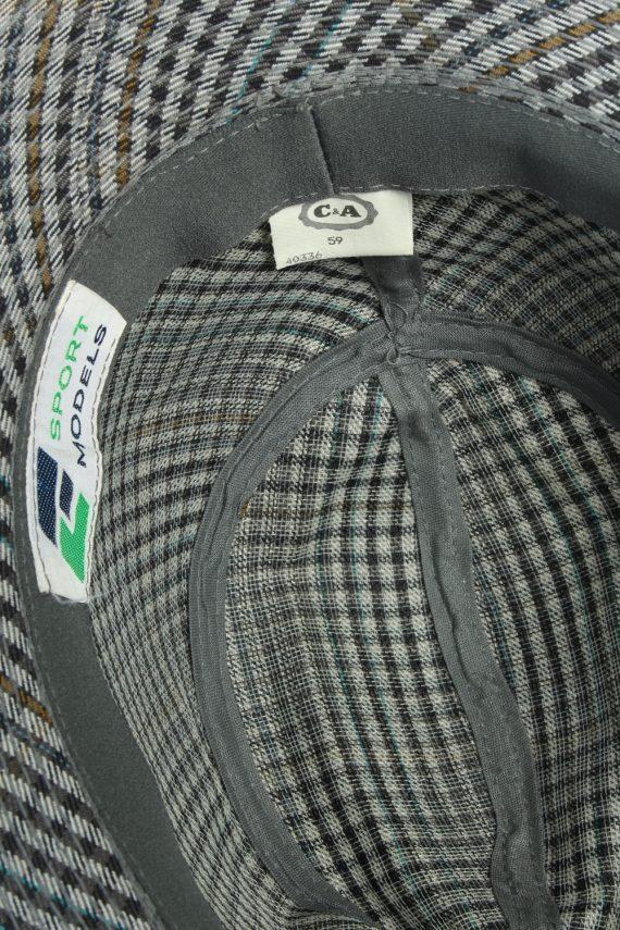 Vintage C&A Sport Models 1990s Fashion Mens Trilby Hat Multi HAT1203-124596