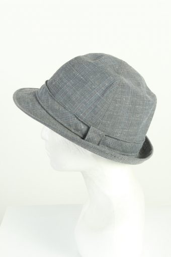 Vintage Henry Stanley 1980s Fashion Mens Trilby Lined Hat Multi HAT1221-124666