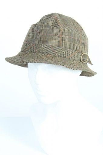Vintage SportCasual Fashion Mens Short Brim Lined Hat