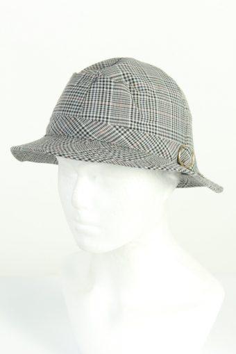 Vintage Topman Esclusiv Fashion Mens Short Brim Lined Hat